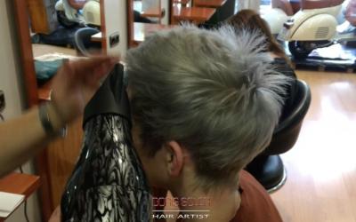 Como aplicar un color gris en el Cabello