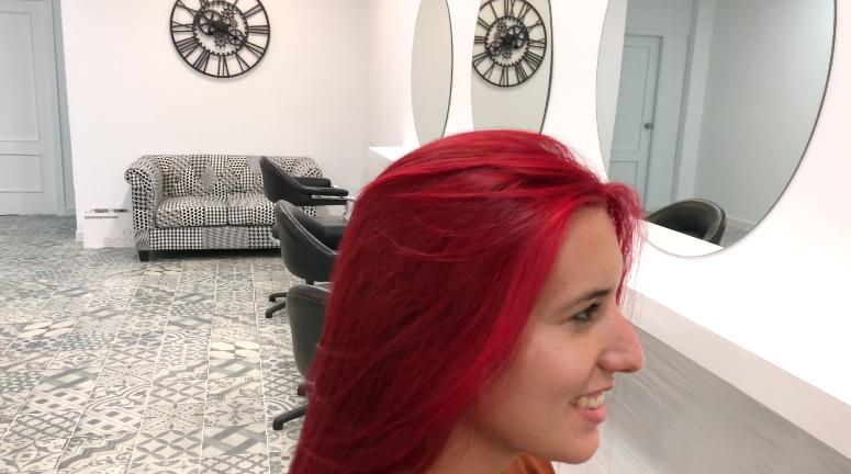 Como poner un cabello Rojo sin que tire a Naranja