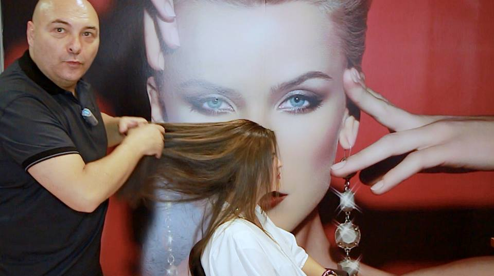 Como hacer unas Babylights en cabello virgen con Flamboyage