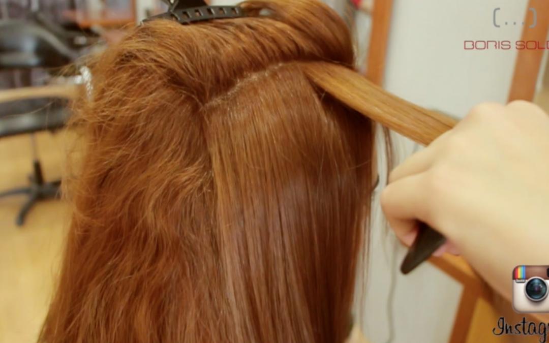 Como aclarar un cabello teñido de oscuro y convertilo en un cobrizo