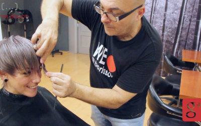 Como teñir un pelo de gris plata