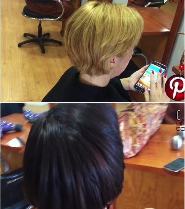 Como oscurecer un cabello 5 tonos, de una forma muy facil