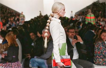 Colas en la presentación de Valentino Paris Fashion Week! inspirada en nuestro video