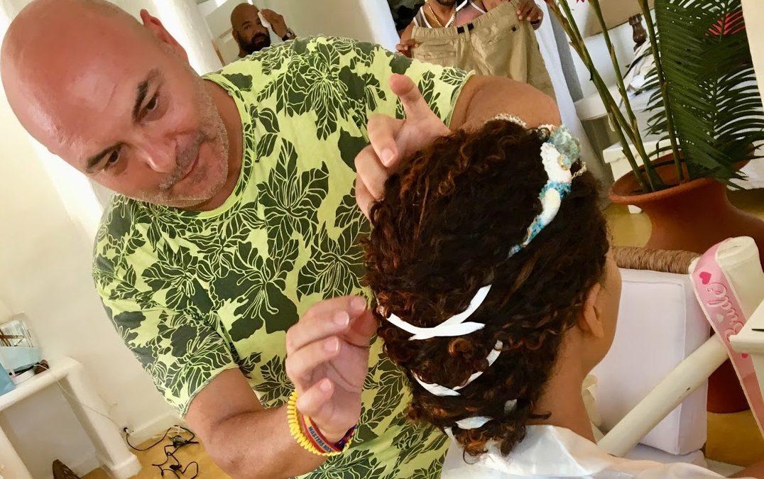 Peinado de Novia en el Caribe Dominicano